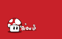 Mario Super Mushroom Wallpaper