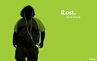 Green Lost iPod Wallpaper