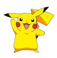 Pikachu is a mouse type Pokémon
