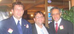 Vicente Loredo, Carlos Rafael, Raimundo Cândido