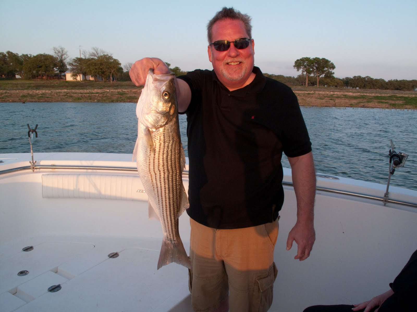 Follow your bliss striper fishing on lake buchanan for Lake buchanan fishing