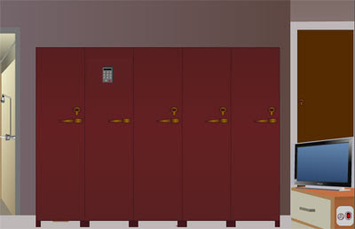 walkthrough Locker Room Escape solution