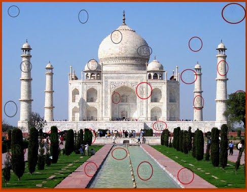 Taj Mahal - Hidden Alphabets