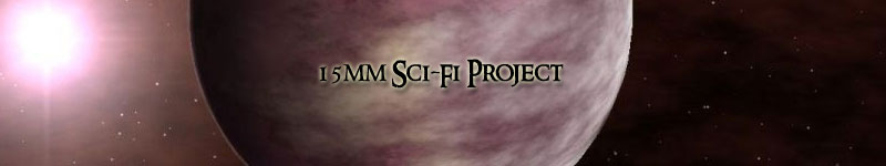 Sci-Fi in 15mm