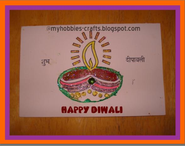 My hobbies and crafts handmade diwali greeting cards you can use this light theme to create some beautiful diwali greeting cards to share with your friends and family during this festive season m4hsunfo