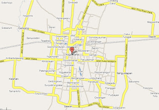 Yogyakarta Maps: Yogya City map
