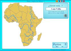 RÍOS E LAGOS DE ÁFRICA