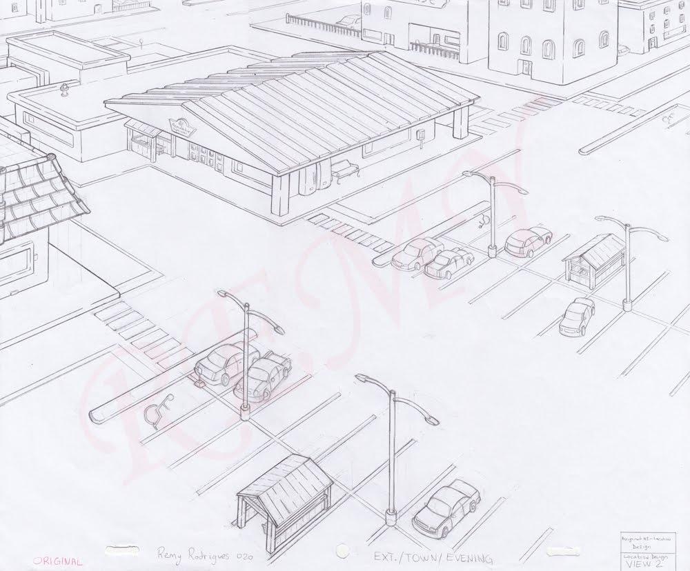 Remy rodrigues location design for Location design