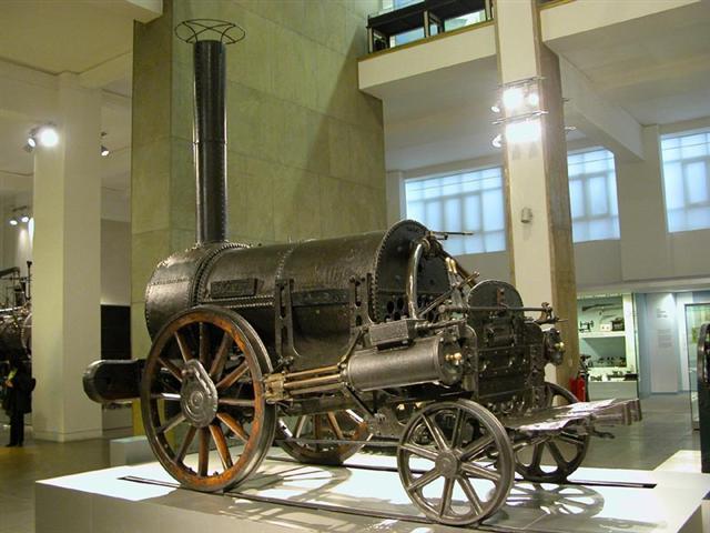 La máquina de vapor,se empleo durante el desarrollo el periodo de la