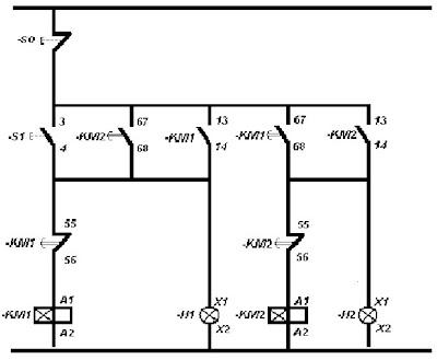 Impacto electrico esquema de un temporizador - Temporizadores de luz ...