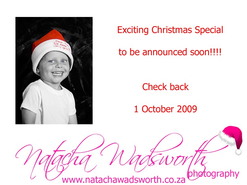 Exciting Christmas Special 2009 - Cape Town Photographer