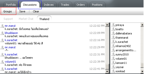 Thai forex school chat