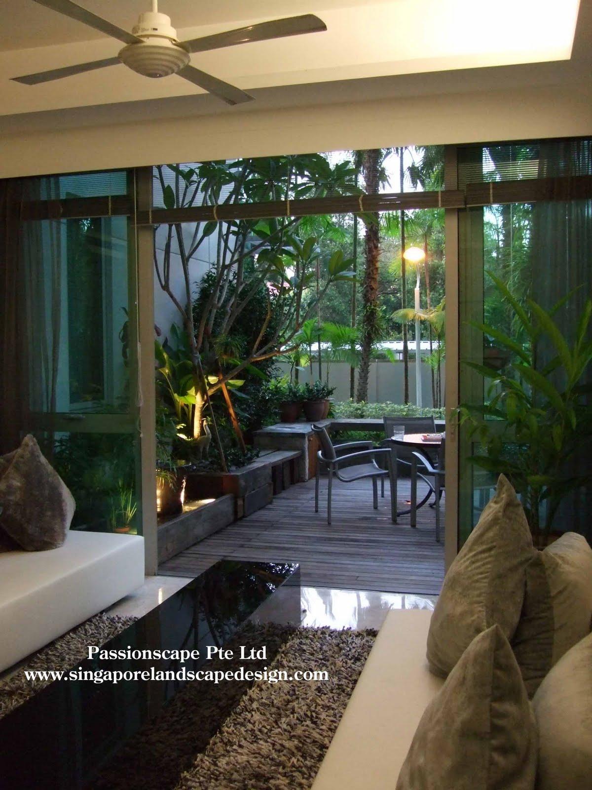 Singapore Landscape Design Inside Out Patio The Tessarina