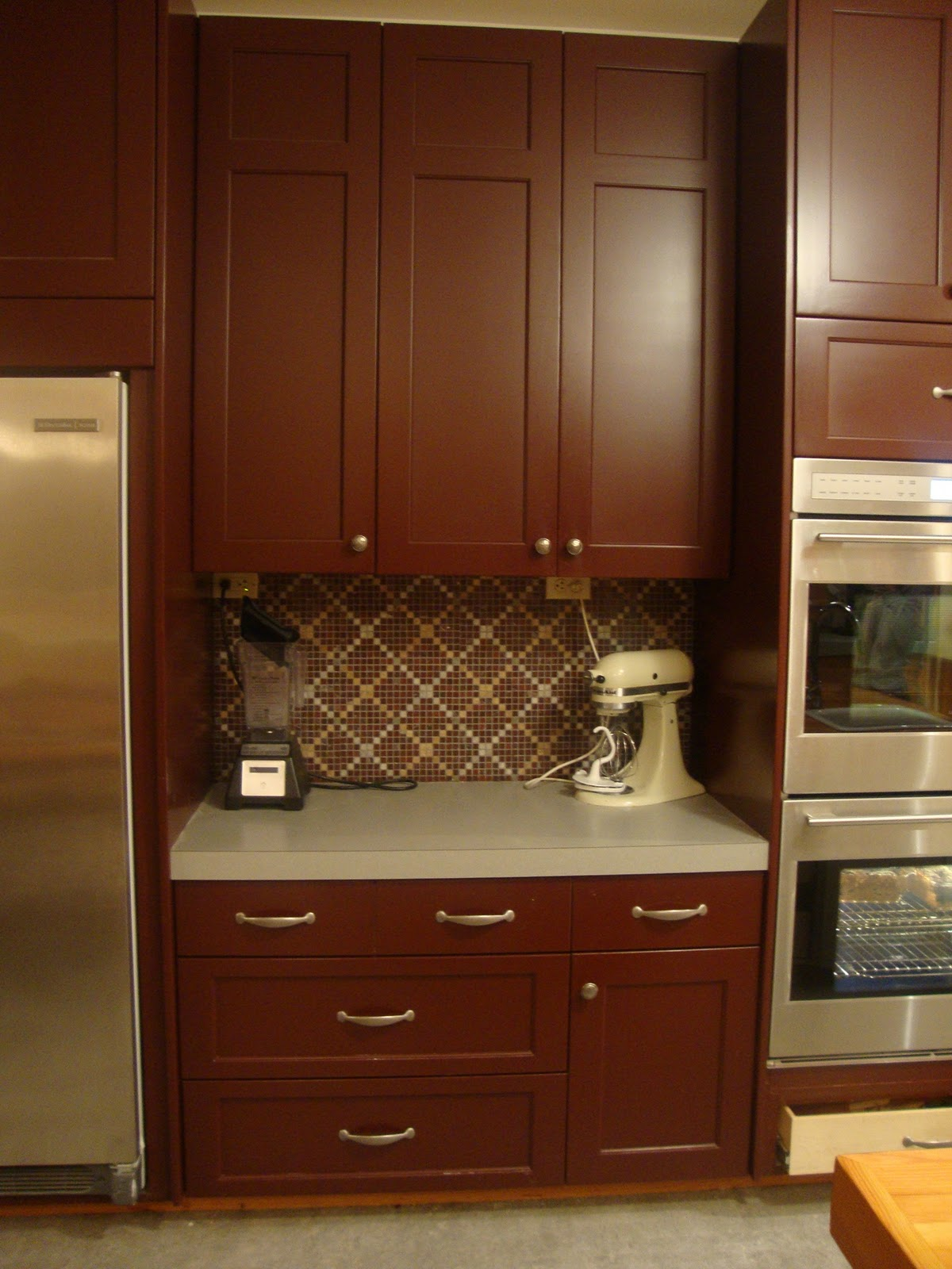 Satin versus SemiGloss Kitchen Cabinets