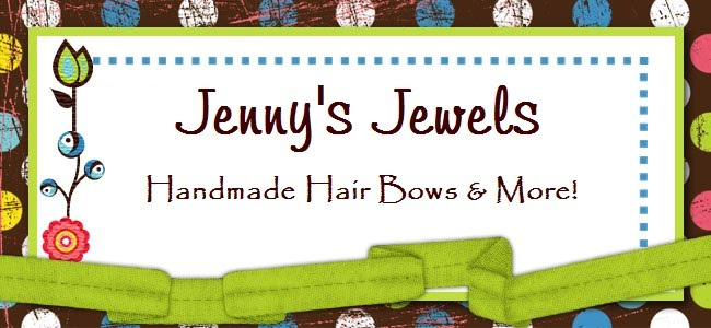 Jenny's Jewels-Handmade Hair Bows & More!