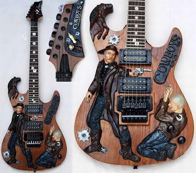 20 Gitar Paling Unik di Dunia