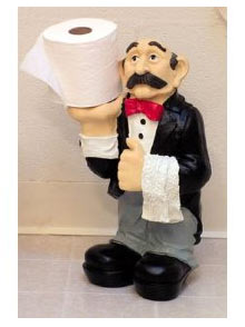Funhunger funny unusual toilet paper holder Funny toilet paper holders