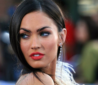 megan fox before and after photoshop. photoshop, Megan