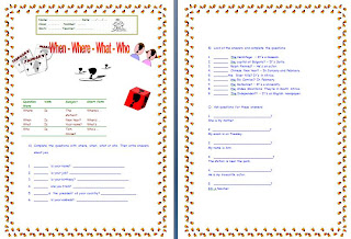 ... . on worksheet asking questions free download printable worksheets on
