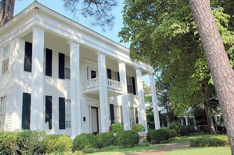 The Lee Bender Butler House Is A Greek Revival Structure That Was