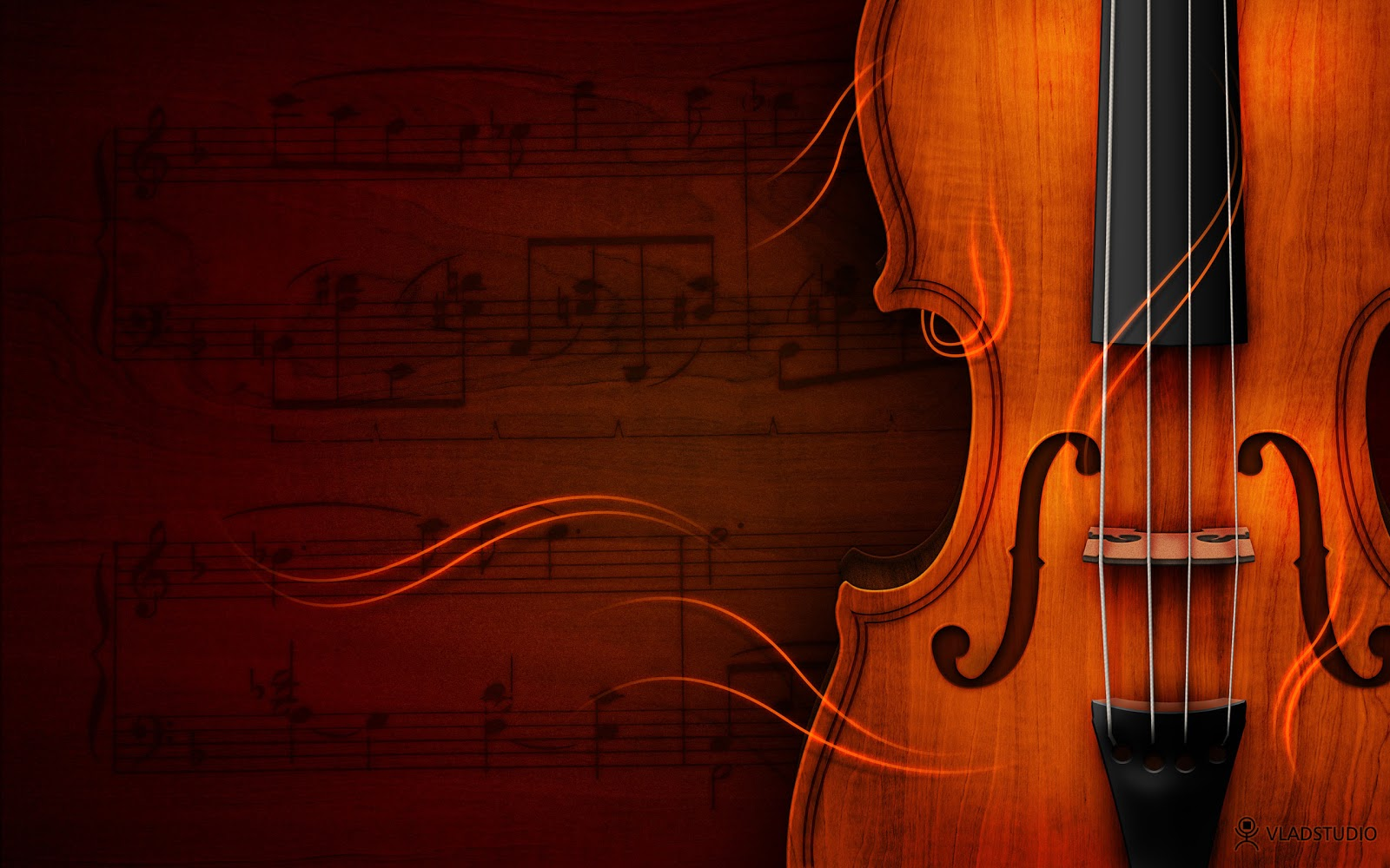 Violin Hd Wallpaper Music Elegant Style Background Hd