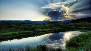 God Rays Blue Sky Cloud Sun Epic HD Wallpaper Amazing