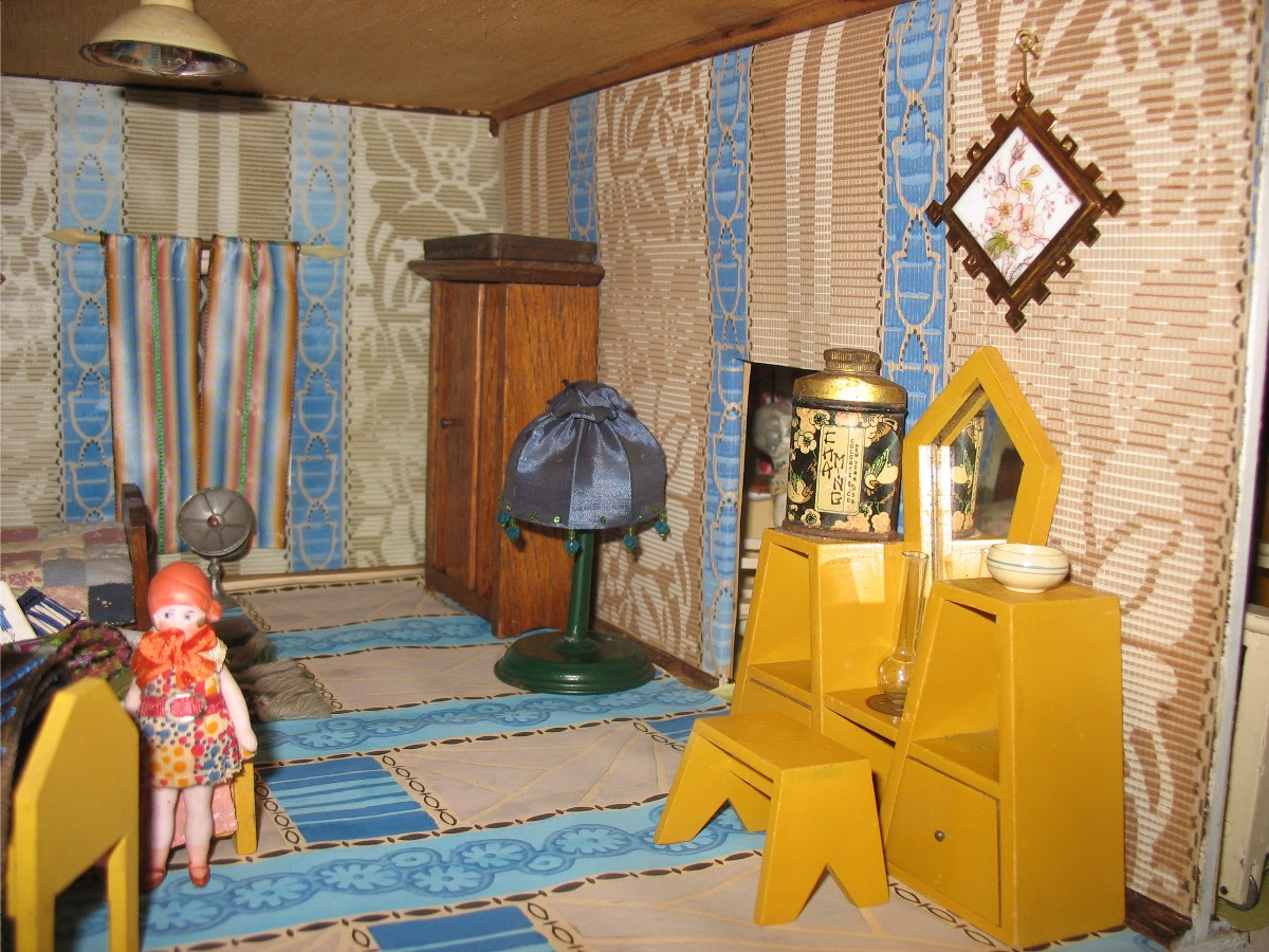 High Quality ... Collectible Dollhouses And Their Furnishings, The Wisconsin Toy Company  Was Based In Milwaukee, Wisconsin, Between 1921 And 1936. They Made  Furniture In ...