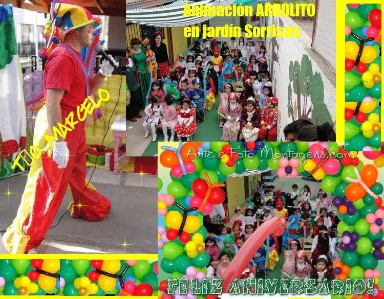Tio marcelo en el aniversario jardin infantil for Jardin infantil nubesol villa alemana