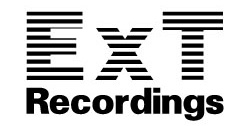 ExT Recordings Official BLOG