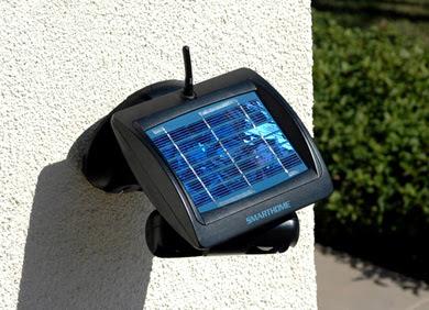 Cámara de seguridad solar