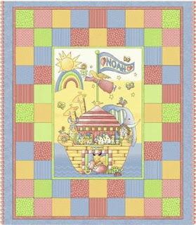 Sampaguita Quilts: Noah's Ark quilt for AJ
