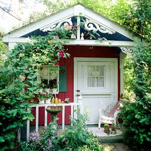 verbena cottage charming garden shed