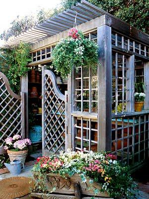 verbena cottage Charming Garden Shed