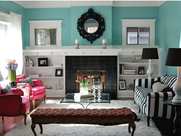 Gallery Of Black White Teal Living Room. 22 Teal Living Room Designs  Decorating Ideas Design Teal Black White And Grey Livingroom ... Part 96