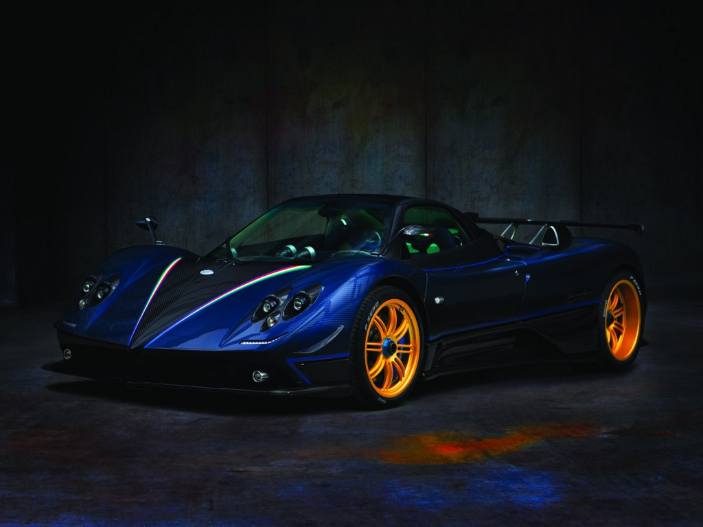 2009 Pagani Zonda Tricolore photo - 4