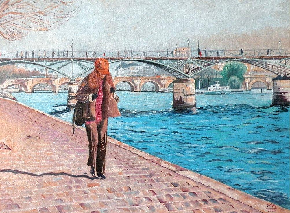 Pont des Arts... Novembre 2010