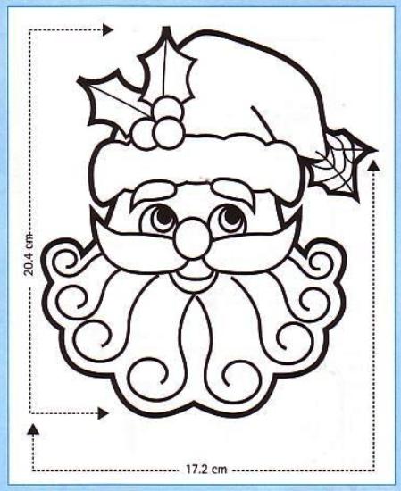 Moldes navideños para pintar en tela - Imagui