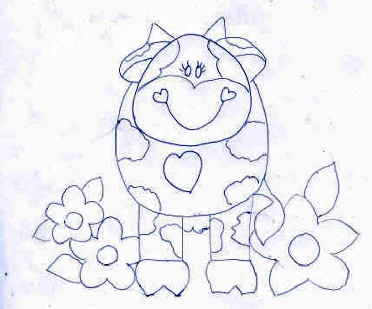 Moldes y patrones para pintar en tela imagui - Dibujos infantiles para pintar en tela ...