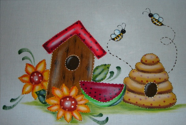 Pintura en tela muestrario imagui - Dibujos para pintar en tela infantiles ...