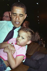 My grandbaby and The Prez
