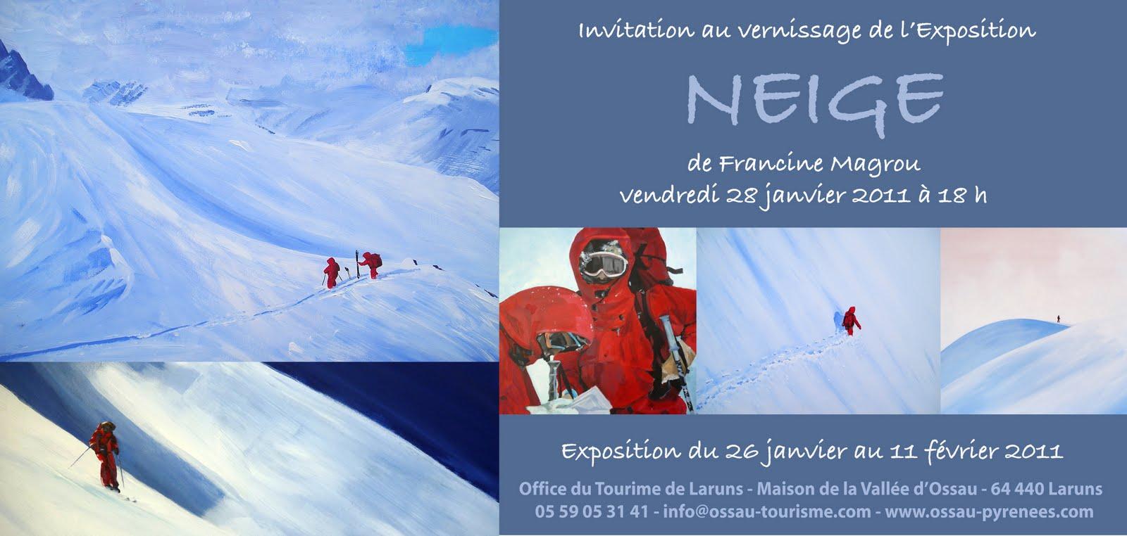 Vernissage l 39 office du tourisme de laruns ma montagne blog - Office de tourisme laruns ...