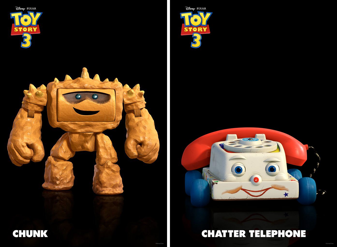 Disney, etc.: Two New 'TS3' Characters: Chatter Telephone ...