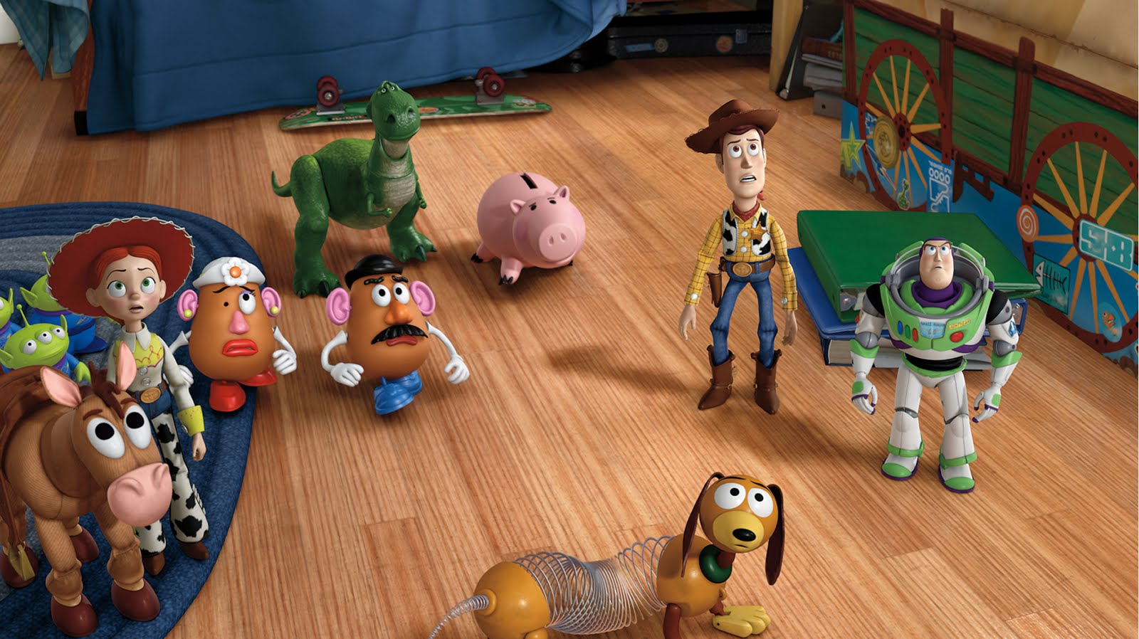 Pixar Planet View topic The ENTIRE Toy Story Cast Wallpaper