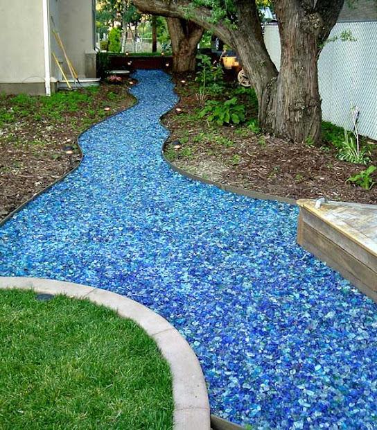 garden glitter bling-landscaping