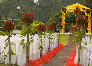 Garden Wedding in Chateau de Busay, Cebu