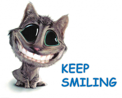 keep smiling no matter what