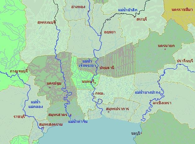 ลุ่มแม่น้ำท่าจีน