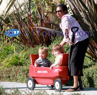 britney spears kids Britney Spears Kids with Nanny