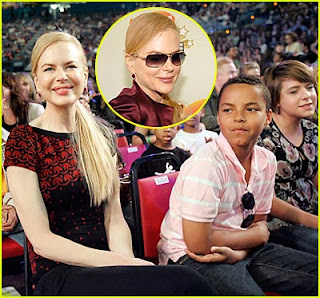 nicole kidman connor isabella kids choice awards Nicole Kidman at 2007 Kids Choice Awards