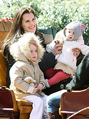 brooke shields 1b Brooke Shields with Roan and Grier